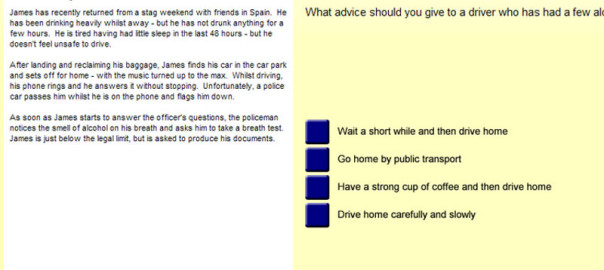 Driving Lessons Manchester Driving Theory Test Blog Image